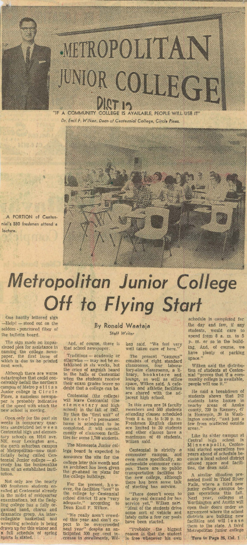 What are some facts about Metropolitan Community College?