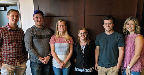 first class Anoka-Ramsey and St. Cloud State Business degree partnership program students